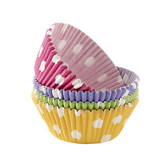 100 Spotted Cupcake Cases