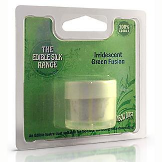 Cake Decorating Edible Silk Powder - 15g Iridescent Green alt image 4