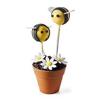 """6 Blumentopf -Silikonformen """"für Muffins alt image 4"""