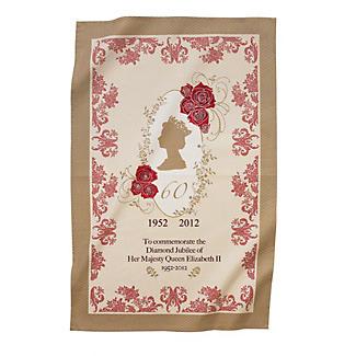 Diamond Jubilee Tea towel