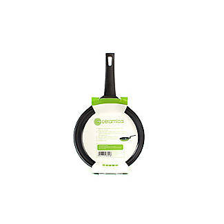 Colourful Ceramica Cookware Green Frying Pan - 16cm alt image 8
