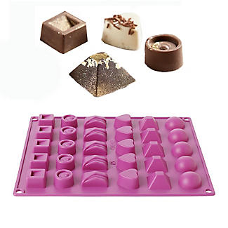 Silicone Chocolate Mould Box Shapes alt image 1