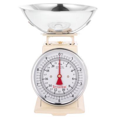 Terraillon Vintage Cream Kitchen Weighing Scale Lakeland