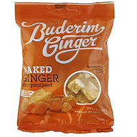 Buderim Uncrystallised Naked Sweet Ginger 200g