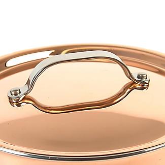 Copper Tri-Ply Saucepan 20cm alt image 5