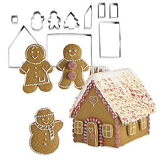 Gingerbread House Cutter Set