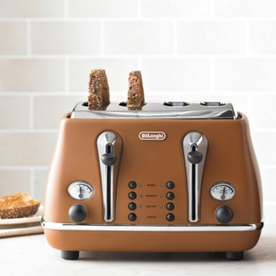 Delonghi Vintage Icona Toaster Copper Lakeland