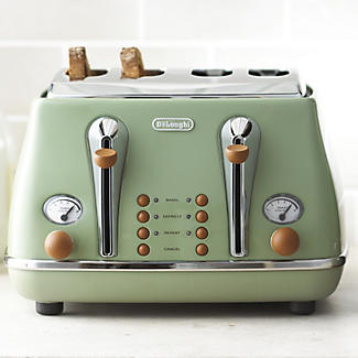 Delonghi Vintage Icona Toaster Green