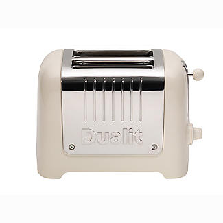 Dualit Lite 2-Slice Toaster Canvas White 26213