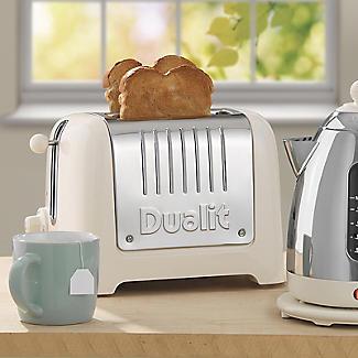 Dualit Lite 2-Slice Toaster Canvas White 26213 alt image 7
