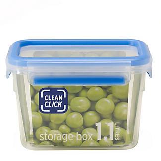Clean Click Hygienic Rectangular 1.1L Box