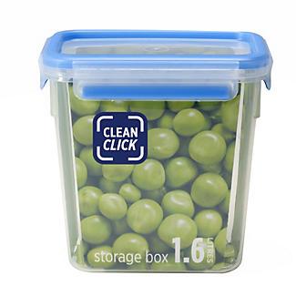Clean Click Hygienic Rectangular 1.6L Box