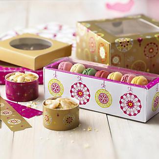 Lakeland Christmas Baubles 24 Mini Cake Wraps alt image 2