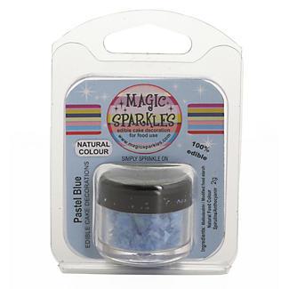 Cake Decorating Sprinkles - 2g Magic Sparkles Pastel Blue alt image 2