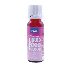 PME Pink Concentrated Natural Food Colouring 25g