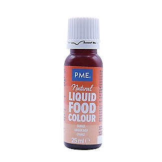 Pme 100% Natural Orange Food Colouring 25g | Lakeland