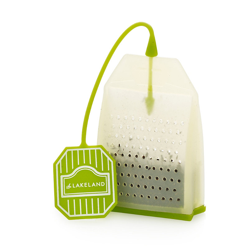 Details About Lakeland Refillable Reusable Silicone Tea Bag For Loose