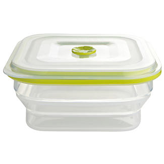 1 Litre Square Store and More Container