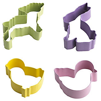 4 Easter Cookie Cutters