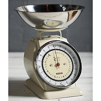 Typhoon® Bella Cream Mechanical Kitchen Weighing Scales alt image 2