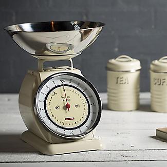 Typhoon® Bella Cream Mechanical Kitchen Weighing Scales alt image 4