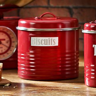Typhoon® Vintage Kitchen Red Large Storage Canister alt image 2