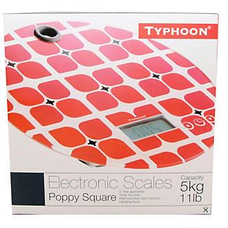 Typhoon® Poppy Square Electronic Scale alt image 2