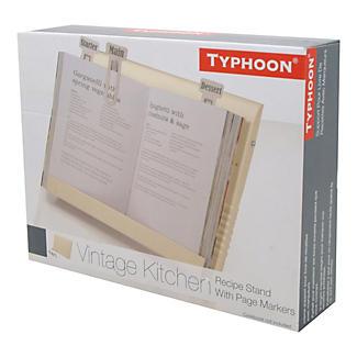 Typhoon® Vintage Kitchen Cream Recipe Book Holder alt image 2