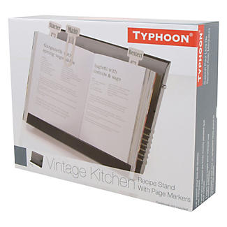 Typhoon® Vintage Kitchen Black Recipe Book Holder alt image 2