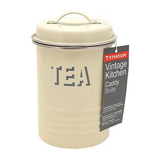 Typhoon® Vintage Kitchen Cream Tea Canister