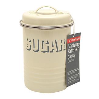 Typhoon® Vintage Kitchen Cream Sugar Canister