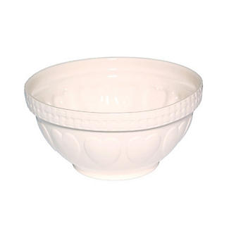 Mason Cash Romantic Hearts Cream Mixing Bowl 4.3L alt image 1
