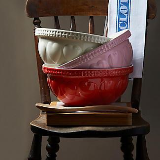 Mason Cash Romantic Hearts Pink Mixing Bowl 4.3L alt image 4