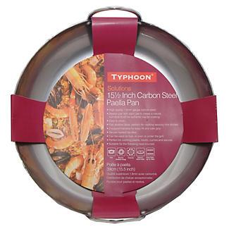 Typhoon® Carbon Steel Paella Pan