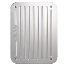 Dualit Seitenteil-Set für Architect Toaster, silber