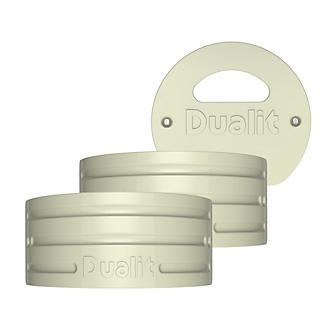 Dualit Architect Wasserkessel Seitenteile-Set, creme