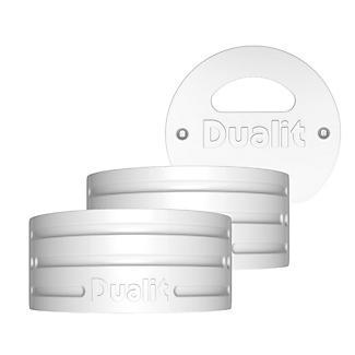 Dualit Architect Wasserkessel Seitenteile-Set, weiß