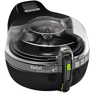 Tefal Actifry 2 in 1 Low Fat Fryer Black YV960140 alt image 2