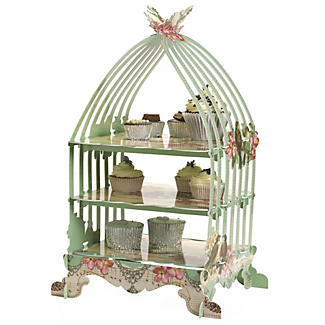 Pastries And Pearls Birdcage Cake Stand