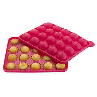 20 Hole Silicone Cake Pop Mould alt image 1