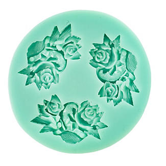 Roses Silicone Icing Mould alt image 2
