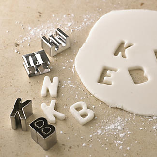 Alphabet Cutter Set