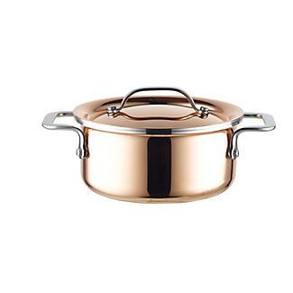 Copper Tri-Ply Mini Casserole Pan 10cm