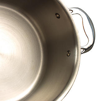Copper Tri-Ply Stockpot 24cm alt image 6