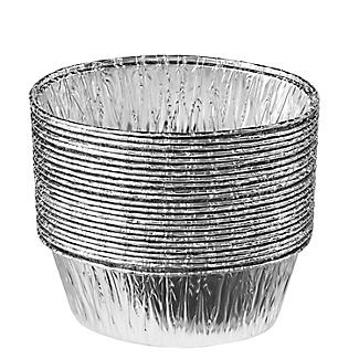 25 Foil Pie Dishes - Oval