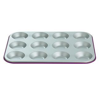 I Can Cook 12 Cup Bun Sheet - Purple