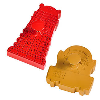 Dalek and Sontaran Cookie Cutters alt image 3