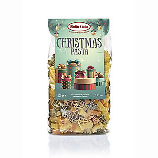 Dalla Costa Tricolour Christmas Pasta Shapes 500g alt image 1