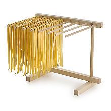 Faltbarer Trockenständer für frische Pasta
