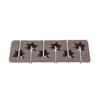 Double Star Chocolate Lolly Mould alt image 2